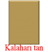 Kalahari tan